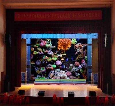 广州番禺中学礼堂P4显示屏