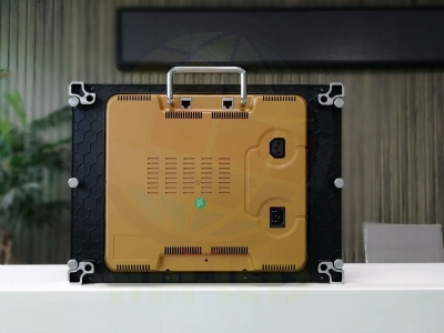 P1.56高刷新显示屏400x300压铸铝箱