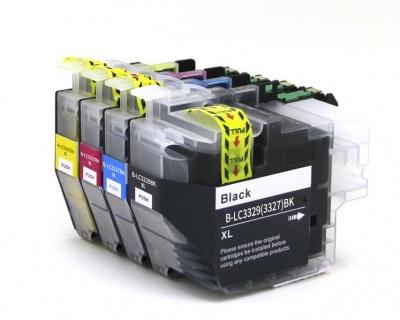 GKI-B-LC3329BK/M/Y/C XL pigment
