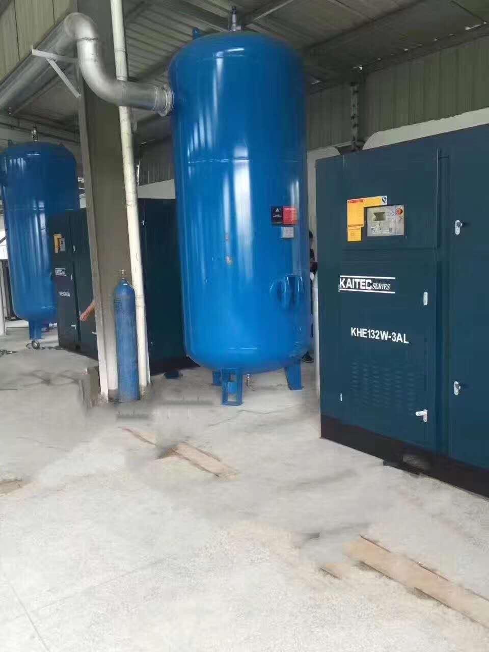 空压机排出的压缩空气中为什么会有水呢?