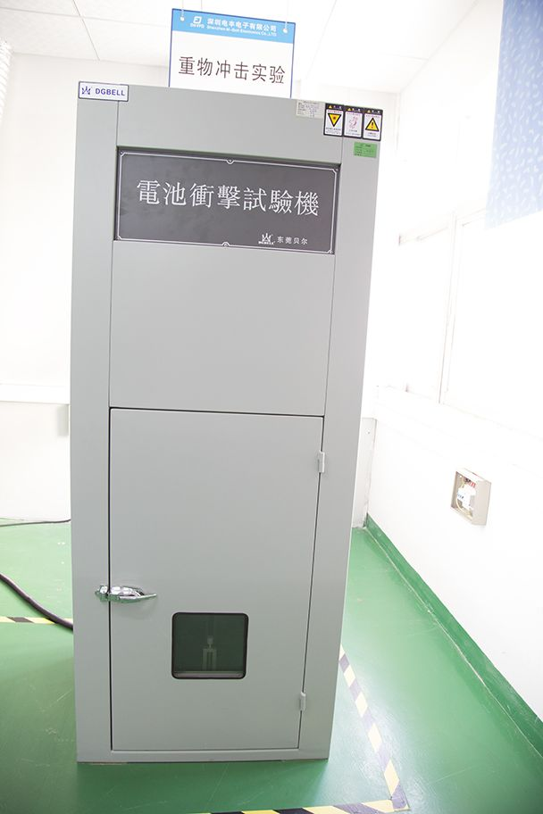 Impact Tester for Battery
