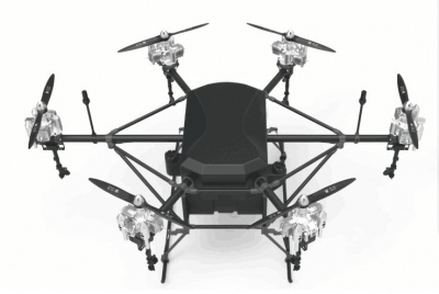 40L high power agriculture drone  sprayer for farmer Fuel-oil driven multi-rotor