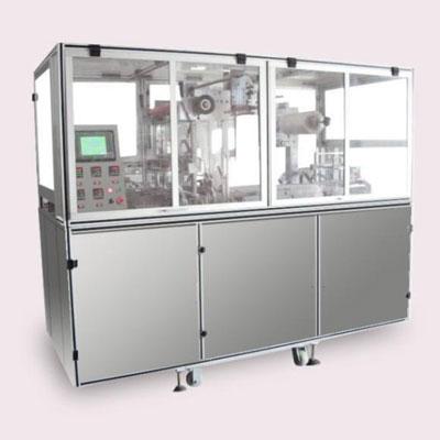 立式全自动三维透明膜包装机