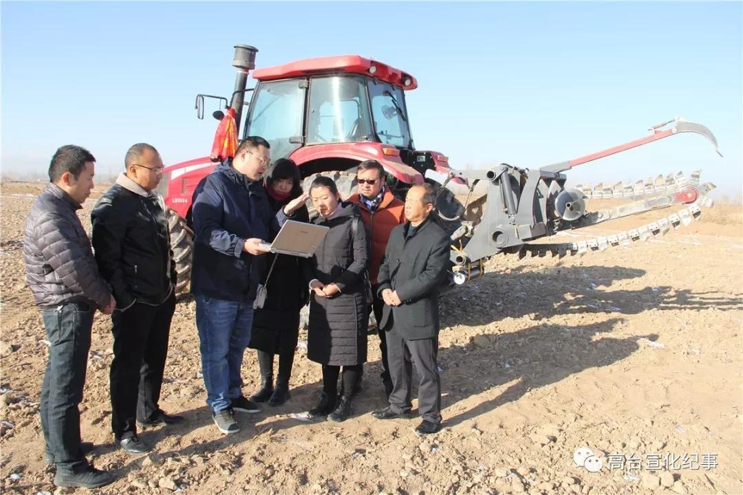 高台县特石生态循环农业示范基地