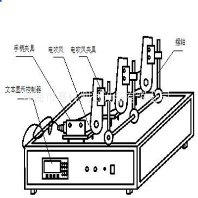 电吹风折叠试验装置JAY-5156