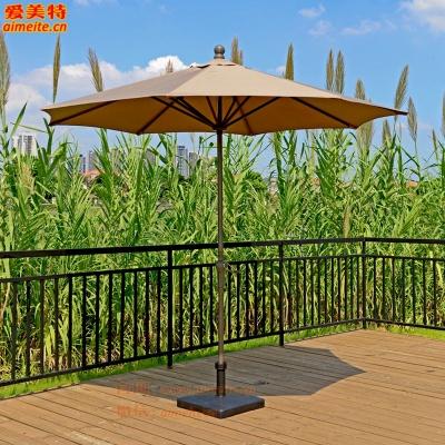 AMT愛美特戶外遮陽傘鐵單頂中柱傘