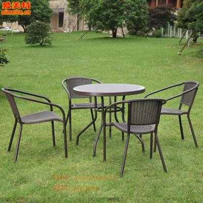 戶外桌椅一桌四椅
