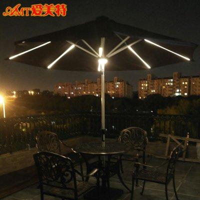 太陽能中柱傘