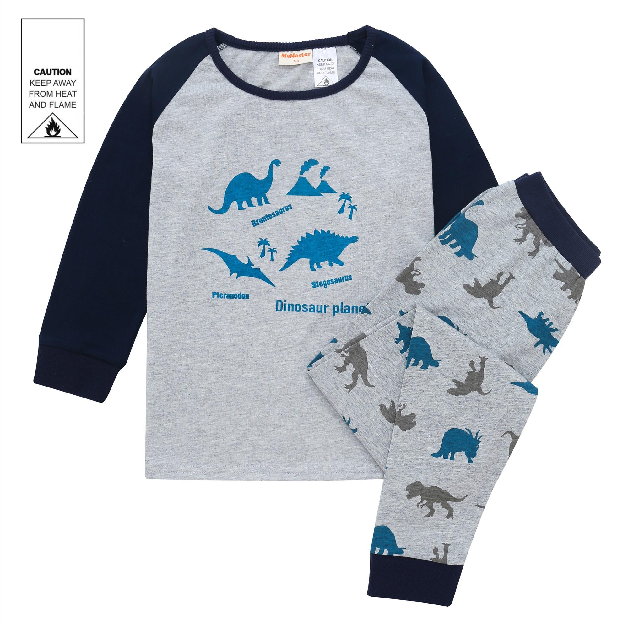 AW1911 Baby Boys Dinosaur Pyjama Set
