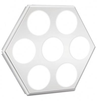 六边形板全孔灯(LED天花灯)