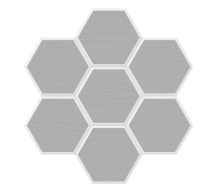 六边形板全孔拼图