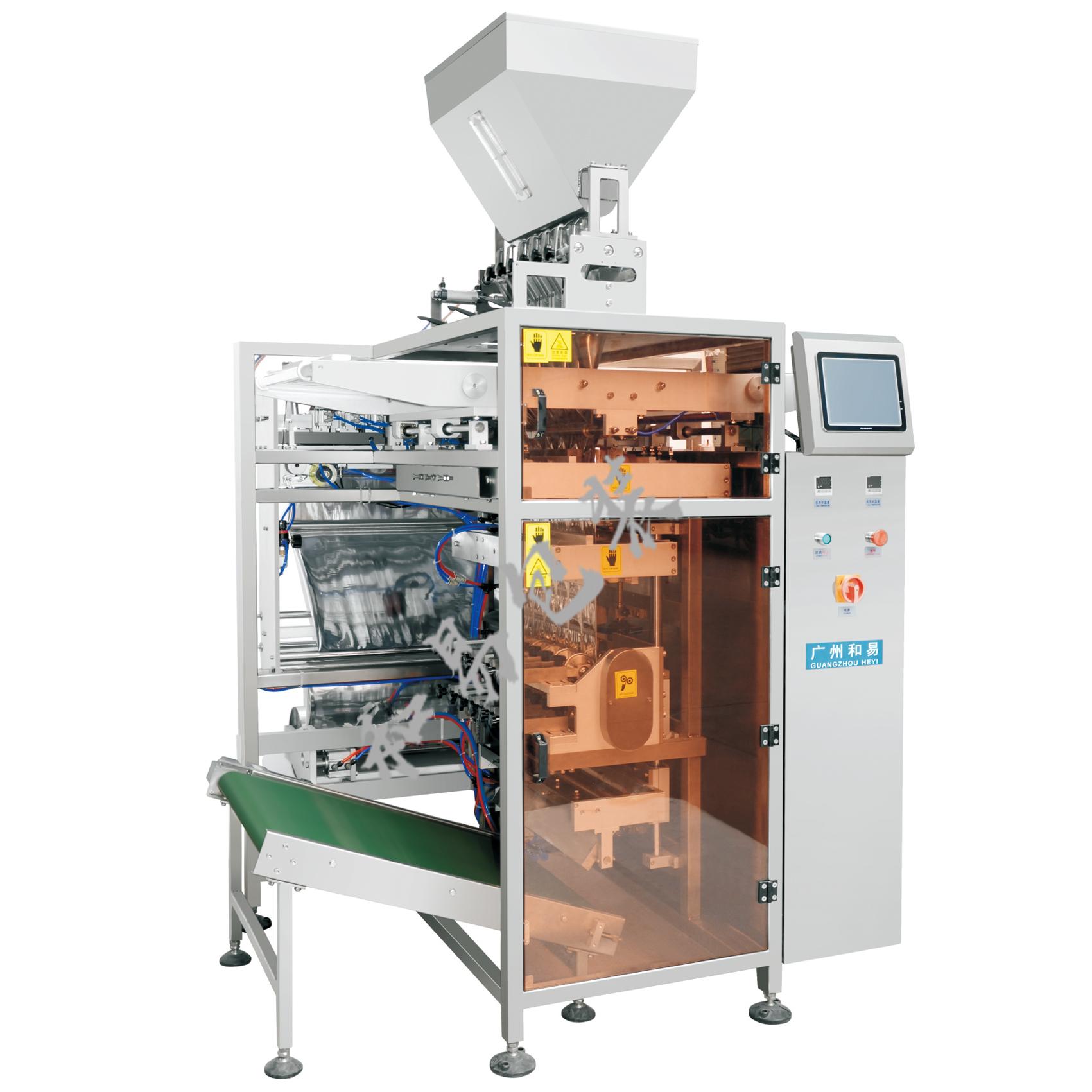 K720/K1080全自动多列四边封颗粒包装机