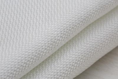 Glass fiber bulk yarn filter fabric