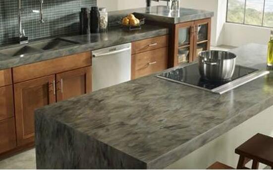 厨房台面为何大理石不如人造石?