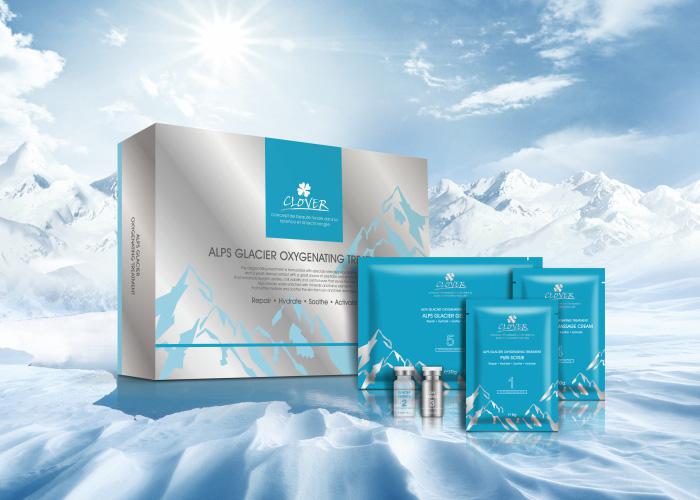 肌膚深呼吸 - 阿爾卑斯冰川水活顏護理 - 激新上市