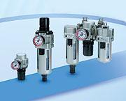 SMC模块式F.R.L./压力控制元件
