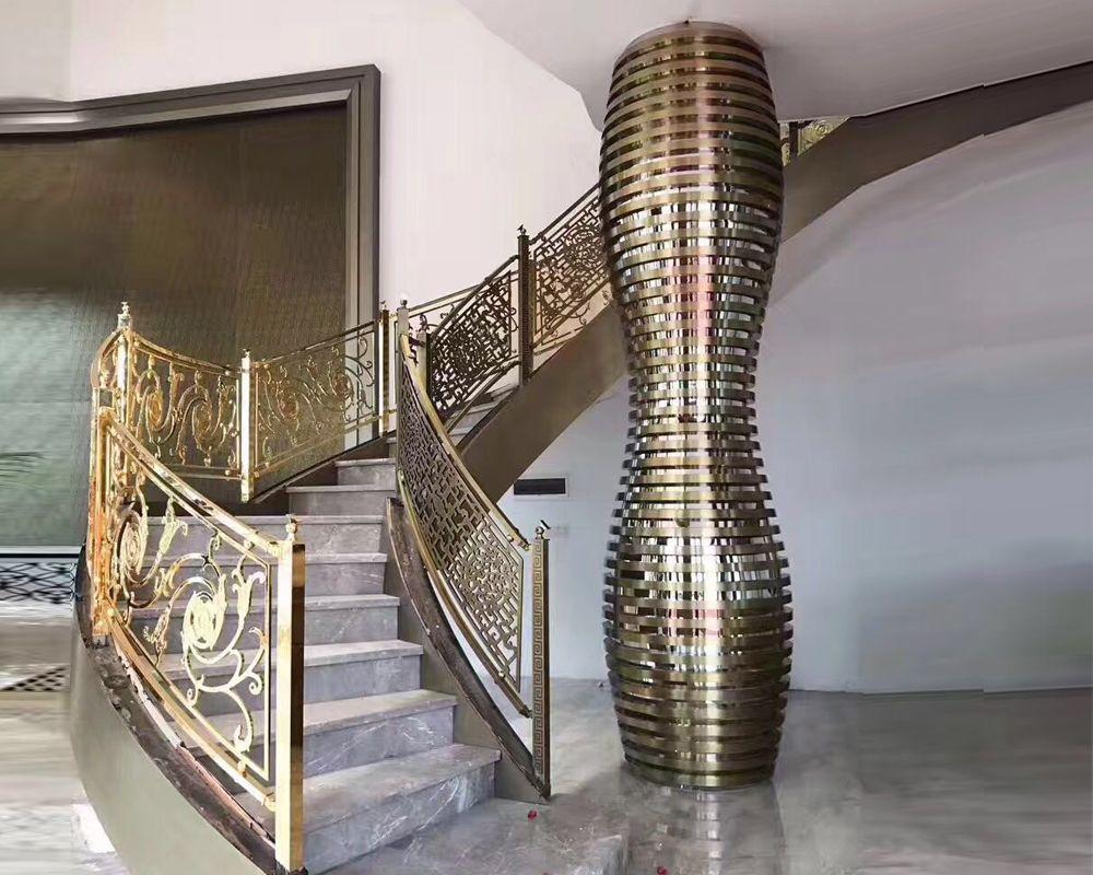 Stainless steel Roman column