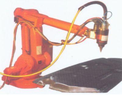 工业机器人激光金属切割工作站