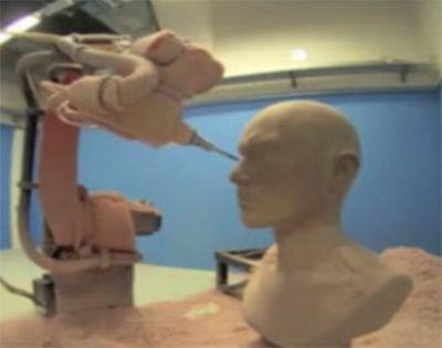 工业机器人雕铣工作站(减材制造)