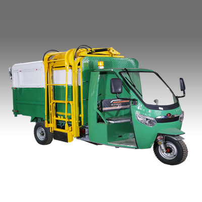 BN-10电动三轮侧吊桶车,电动环卫保洁车