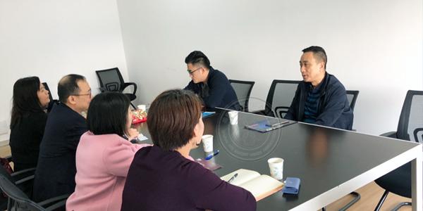 保盛公司总经理会见香港贸易发展局来访一行