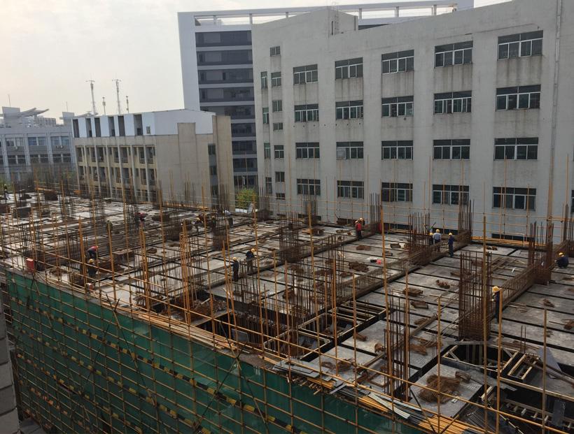 美嘉正在兴建12层数码科技大楼