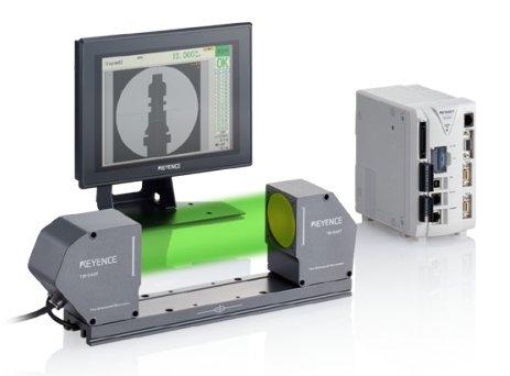 二维高速投影尺寸测量仪