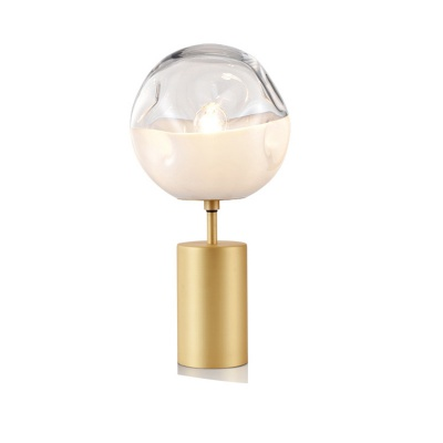 Home decor table lamp glass vase wishing vase with cork glass table lamp