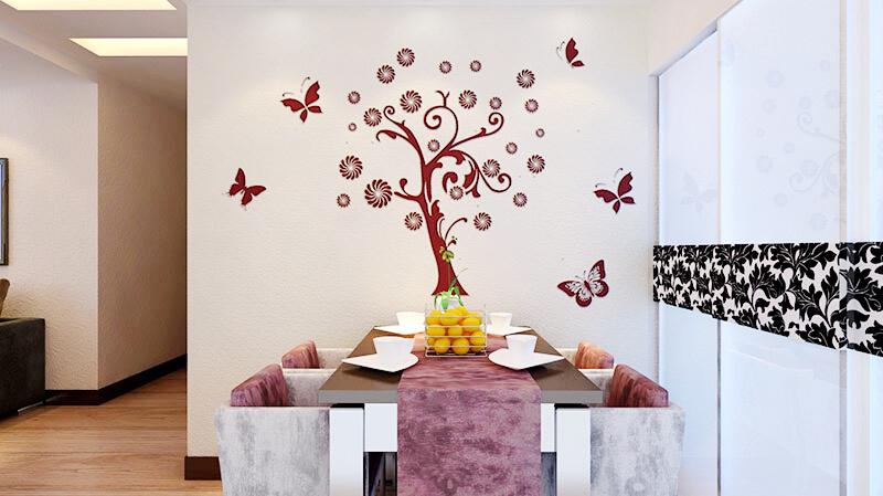 这是贝壳粉的餐厅装修图片