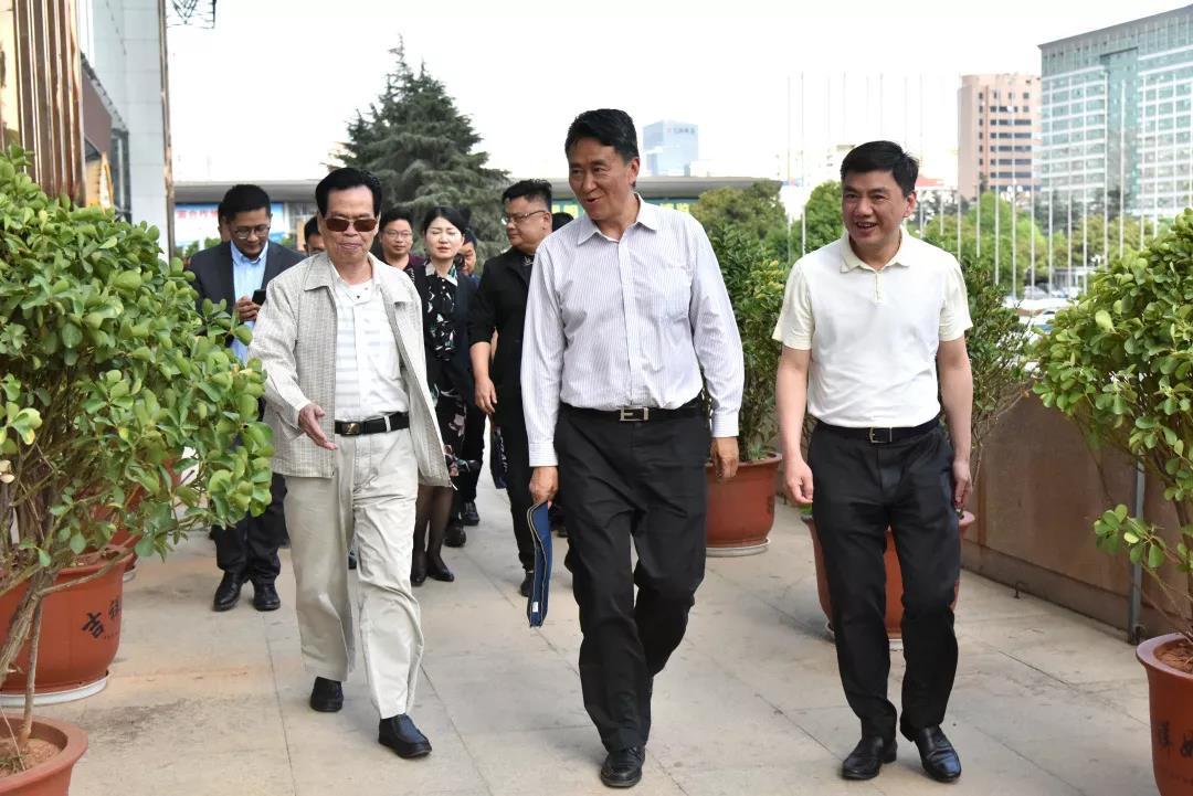 云南省委统战部省工商联领导到广东...