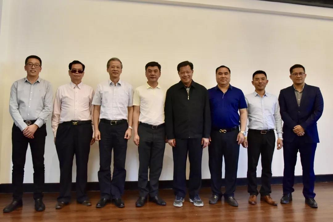 广东省政协代表团到我会座谈