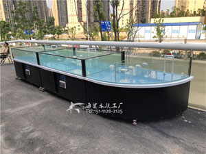 海鲨水族工厂 饭店餐厅海鲜鱼池——出口越南