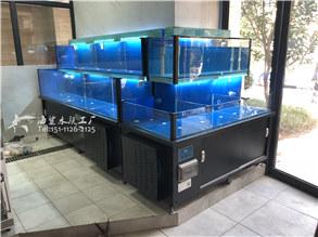 湖南长沙社区生鲜超市海鲜鱼池