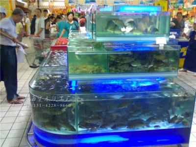 岳阳超市海鲜池