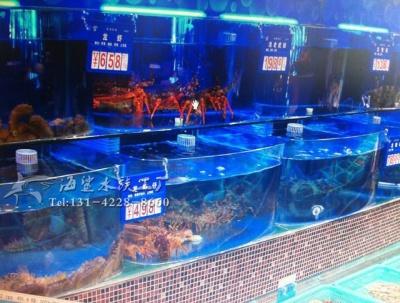 湘潭水产市场海鲜池