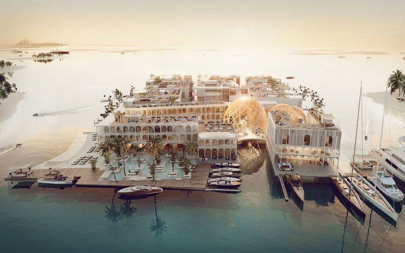 Dubai unveils plans to build floating replica of V...