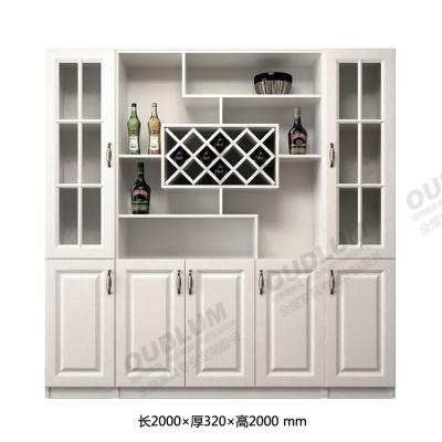 客厅装饰玄关酒柜 餐厅餐边柜 五门对开门酒柜