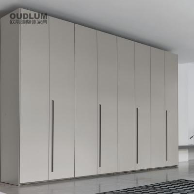 欧蒂隆卧室家具定制储物柜订做简约现代5门大衣柜衣橱YG01B