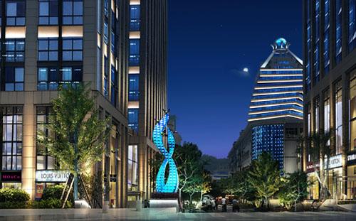 商业街照明设计