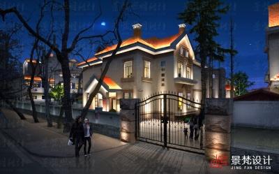 别墅夜景照明设计