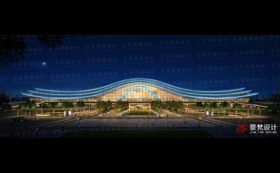 高铁站照明设计亮化方案