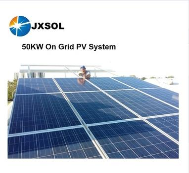 50KW On Grid PV System