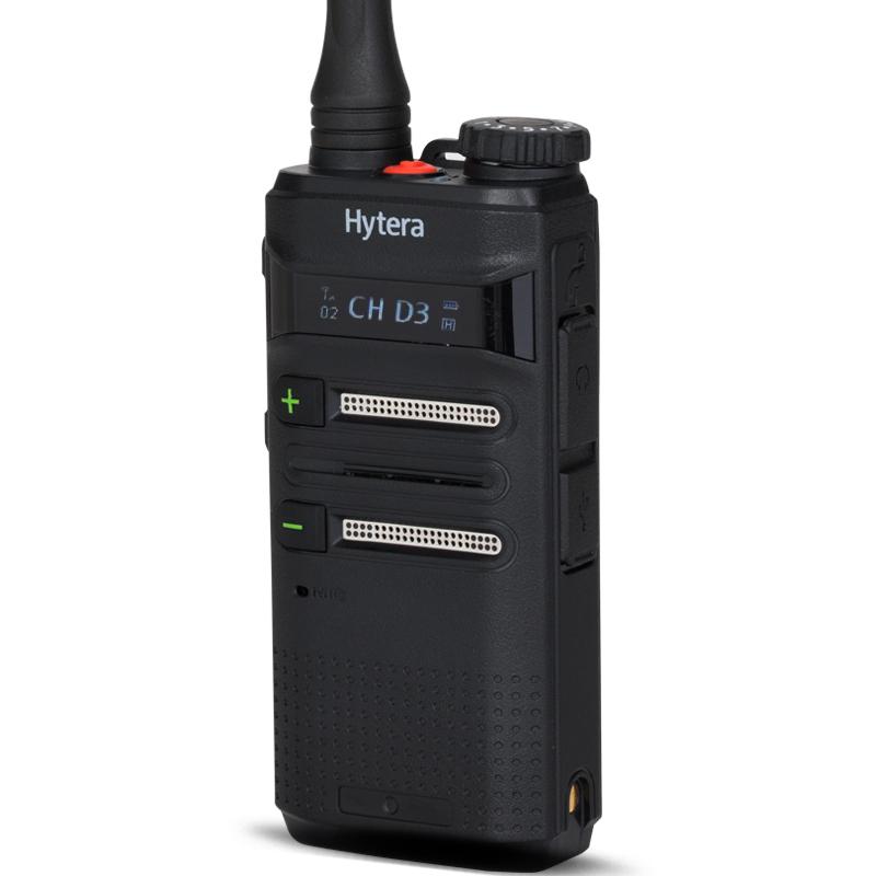 手持对讲机主机包括的部件