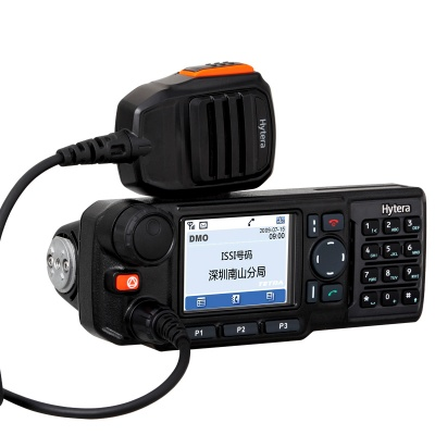 海能达MT680终端集群数字车载对讲台