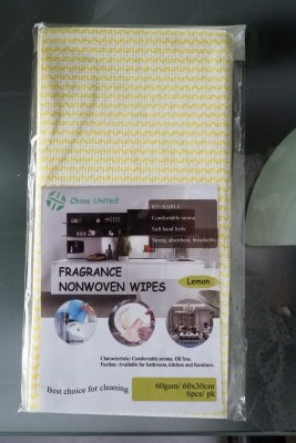 Spunlace Fragrance Nonwoven Wipe