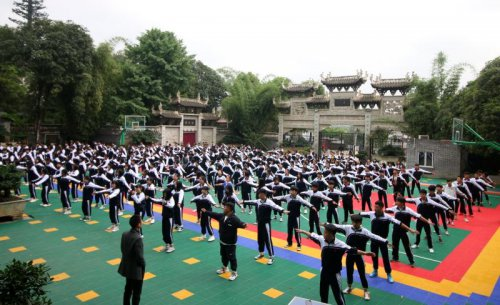 贵州航工业技师学院白云校区校园实景