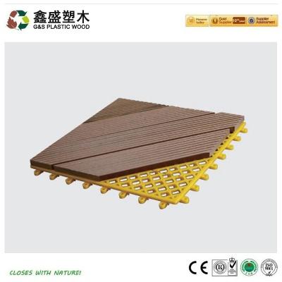 拼装塑木地板_GS-DIY-11H