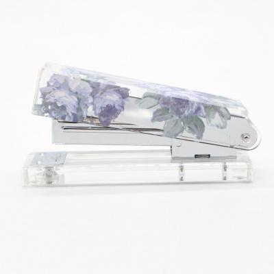 紫色花朵印花亚克力u乐登录网站