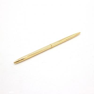 金色旋转圆珠笔