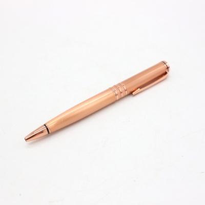 玫瑰金色圆珠笔